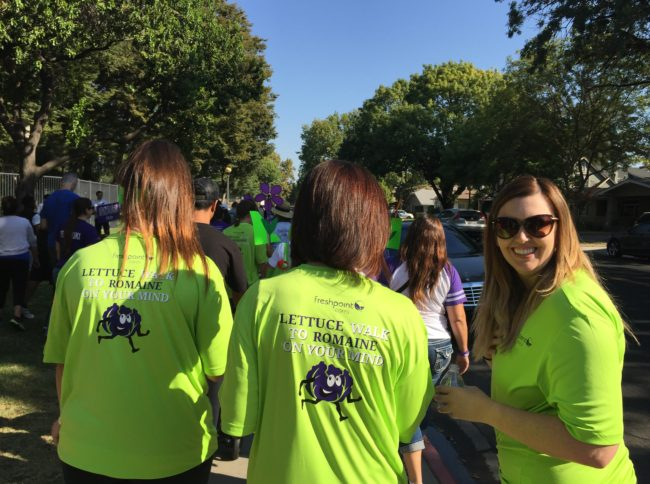 FreshPoint Central California - Lettuce Walk to Romaine on your Mind - Leslee Deleissigues