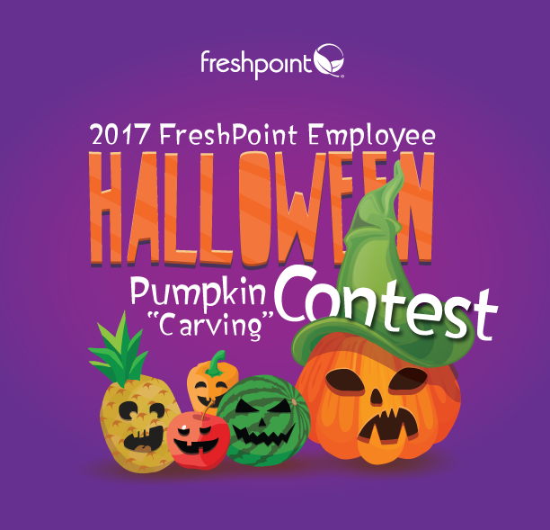 FreshPoint's 2017 Employee Pumpkin Carving Contest