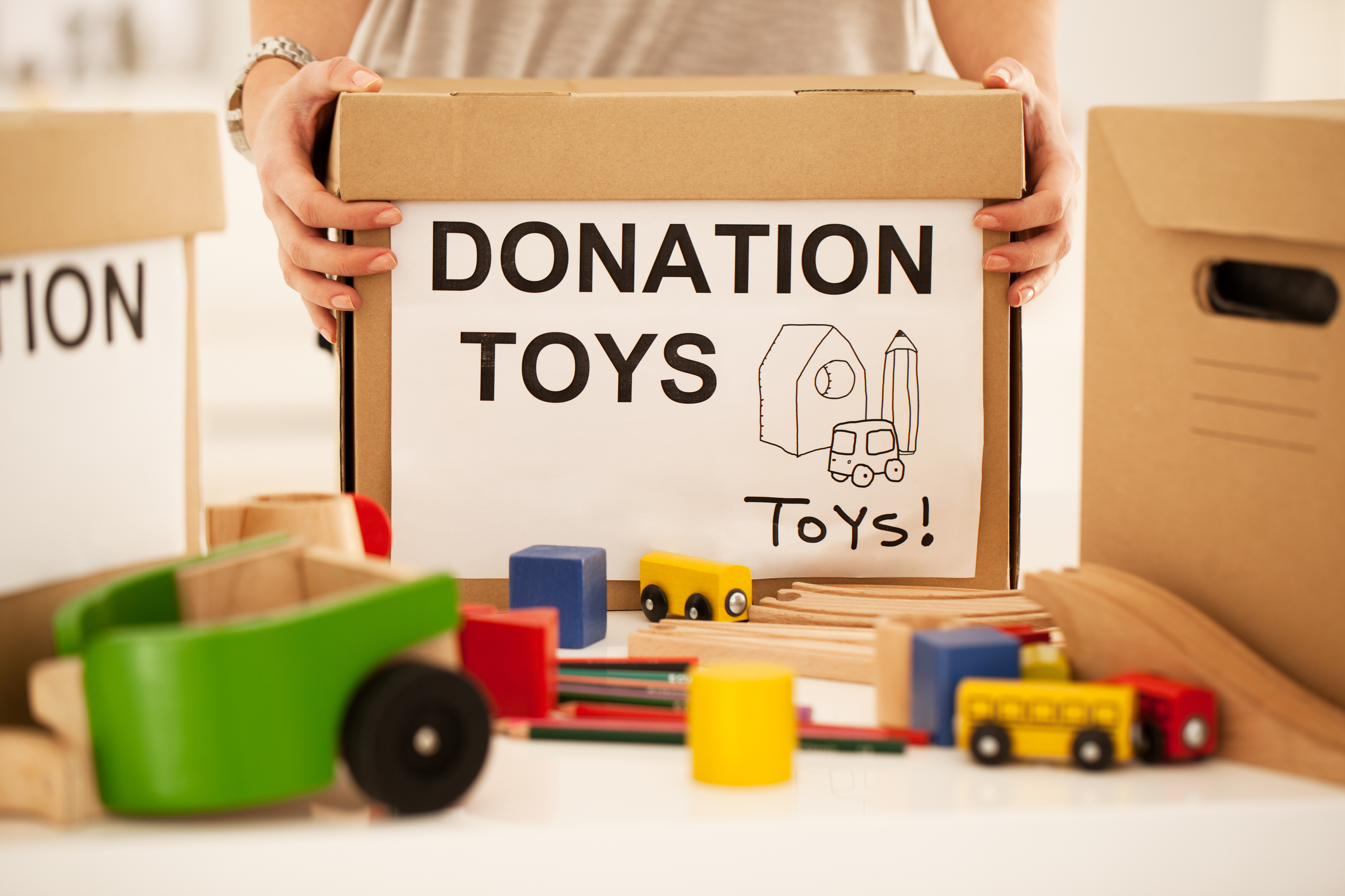 Toy Donation Application : Donating toys wow