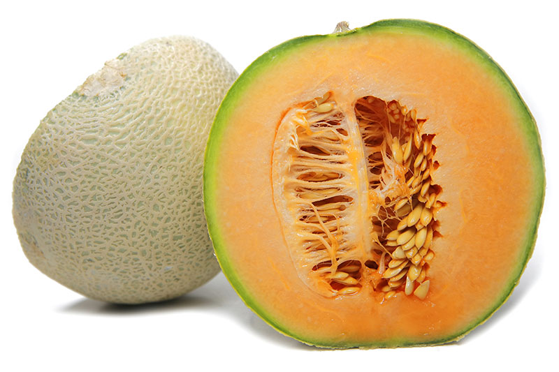 Freshpoint Melons Cantaloupe Fresh melon slice, sliced juicy cantaloupe, sliced melon. freshpoint