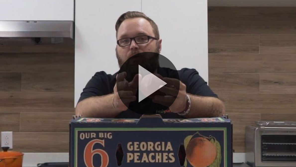 Phil talks to us about the perfect piece of stone fruit, Georgia peaches.