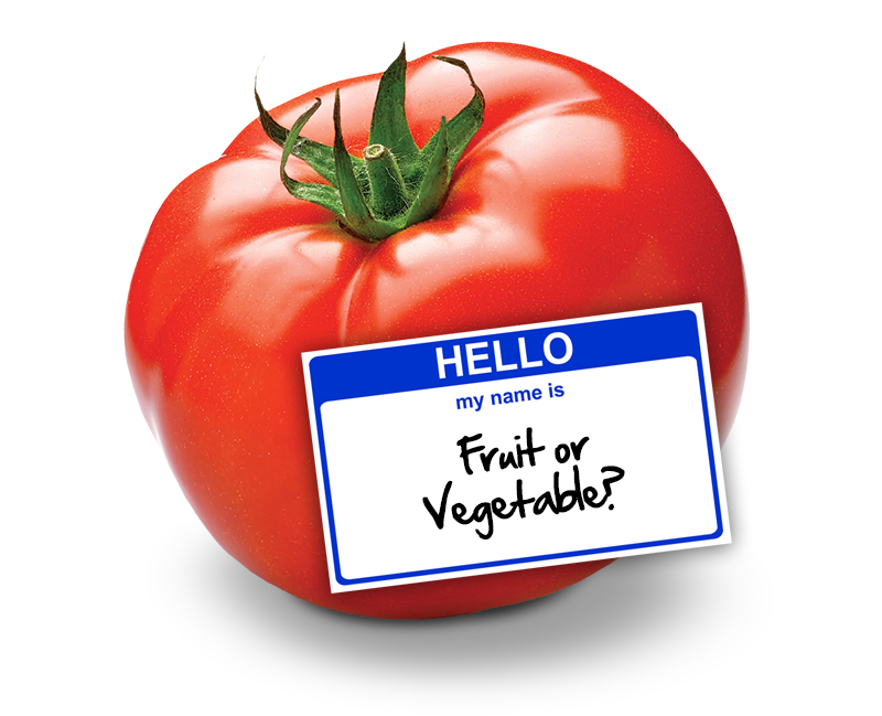 Tomato--fruit or vegetable